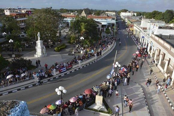 Las Tunas se prepara para recibir a Fidel. Foto: @Marilo56.