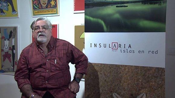 Luciano Castillo, director de la Cinemateca de Cuba. Foto: Captura de pantalla.