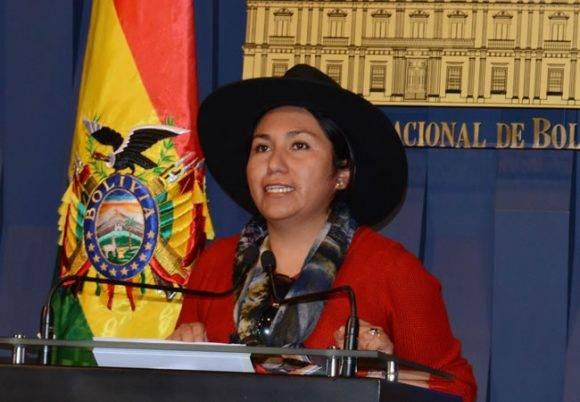 Marianela Paco. Foto tomada de La Radio del Sur.