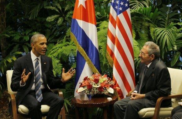 Ambos mandatarios sostuvieron conversaciones oficiales en el Palacio de la Revolución.