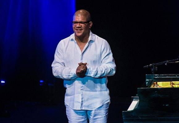 El pianista cubano Miguel Núñez, durante la presentación álbum titulado Flores del futuro, en el 32 Festival Internacional Jazz Plaza, en el Teatro Mella, en La Habana, el 17 de diciembre de 2016. ACN FOTO/Marcelino VAZQUEZ HERNANDEZ/sdl.