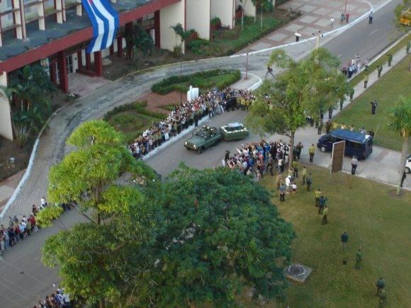Partida de la Plaza Agramonte. Foto: Periódico Adelante