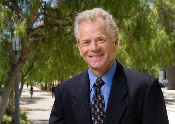 Peter Navarro. Foto tomada de Orange County Register.