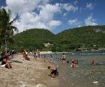 Playa Siboney en Santiago de Cuba. Foto: Claire Boobbyer.