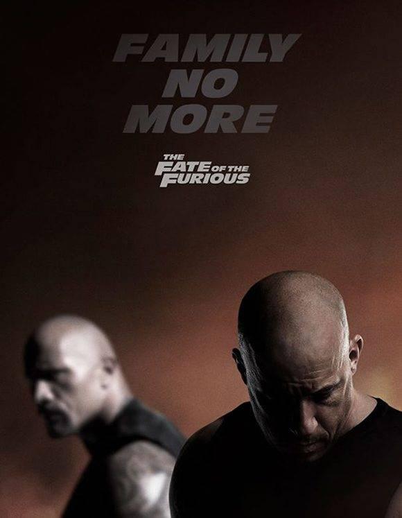 Cartel promocional de la película. Foto. Fast and Furious/ Facebook.