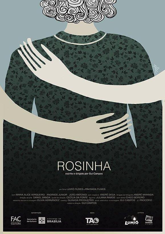 """""""Rosinha"""", cartel ganador del Premio Coral. Autor: Gabriel Marx."""