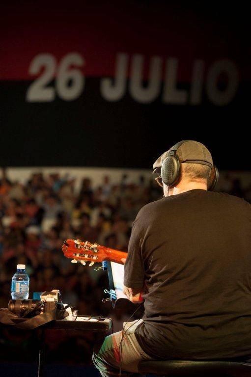 Silvio en San Antonio. Foto: Iván Soca