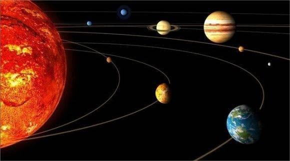 Sistema solar. Foto tomada de Tucucu.