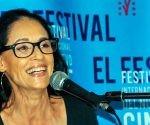 Actriz brasileña Sonia Braga en conferencia de prensa como parte de la edición 38 del Festival Internacional del Nuevo Cine Latinoamericano. Foto: Ariel Cecilio Lemus/ ACN