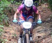 Titan Tropic-Viñales-tercera etapa ganada por Marlies Mejias quien se mantiene lider en el Femenino. Foto:  Ricardo López Hevia / Granma / Cubadebate