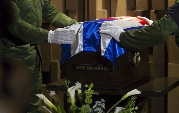Tributo a Fidel desde La Habana hasta Santa Clara. Foto: Ladyrene Pérez/ Cubadebate