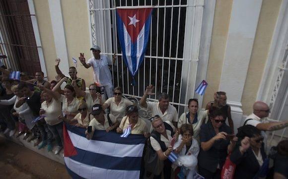 ´Las cenizas de Fidel vuelven sobre las huellas de la Caravana de la Libertad en 1959. Foto: Ladyrene Pérez/ Cubadebate.