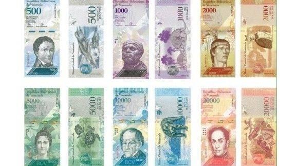 Nuevos billetes venezolanos empiezan a llegar a los bancos for Banco exterior caracas