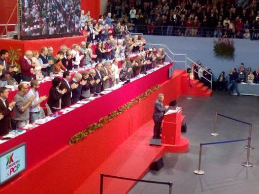 En el XX Congreso del Partido Comunista de Portugal. Habla el embajador Juan Valdes, Funcionario del CCPCC