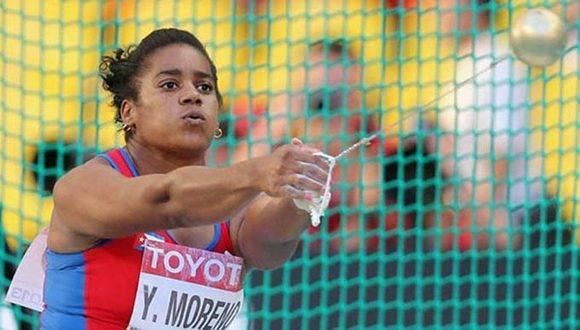 Yipsi Moreno. Foto: Archivo.
