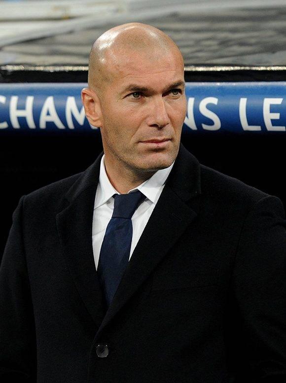 Zinedine Zidane iguala una racha histórica como entrenador de Real Madrid. Foto: Denis Doyle/ Getty Images.