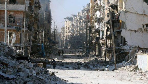 Así ha quedado Alepo, tras 4 años de sangrienta lucha. Foto: Reuters