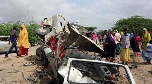 Ataque en Somalia. Foto tomada de PL.