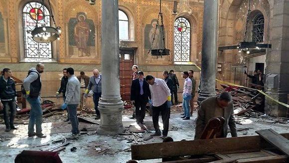 Atentado en Egipto. Foto: Reuters.