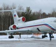 Este es el avión ruso que se estrelló con el coro militar a bordo. La imagen fue tomada en enero de 2015. Foto: Dmitry  Petrochenko/ Reuters.