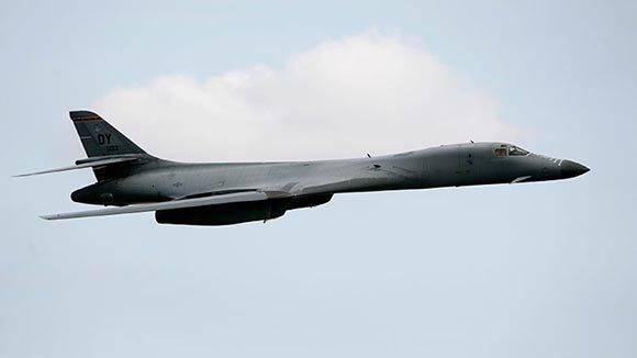 Un bombardero B-1B. Foto: Darrin Zammit Lupi/Reuters