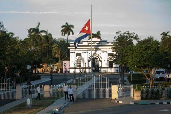 Acto político y ceremonia de inhumación de los restos de Céspedes y Mariana, este 10 de octubre