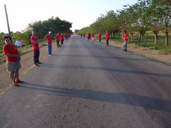 Carretera de Santo Domingo al poblado de la Esperanza, fotos Yamilet Valle Dorta