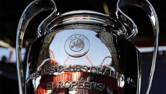 Trofeo de la Champions. Foto: RTVE.