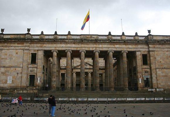 Sede del Congreso colombiano. Foto: Archivo.