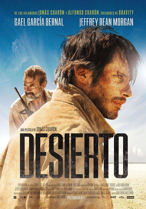 """Cartel de """"Desierto"""", filme ganador en el 38 Festival Internacional del Nuevo Cine Latinoamericano."""