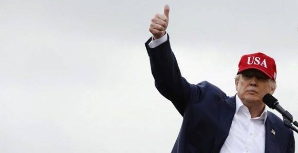 El presidente electo de Estados Unidos, Donald Trump, en un acto en Alabama. Foto: Reuters.