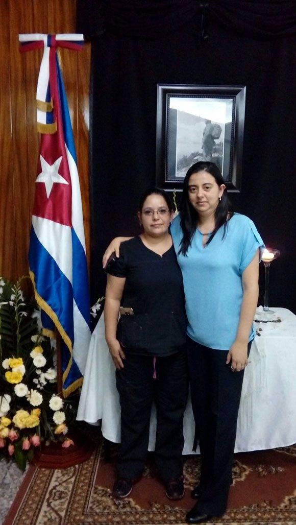 Graduadas de la ELAM dan gracias a Fidel desde Guatemala.  Foto: @CubaEmbaGuatem