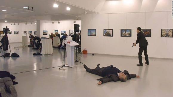El Embajador no fue la única víctima de los disparos. Foto: AP