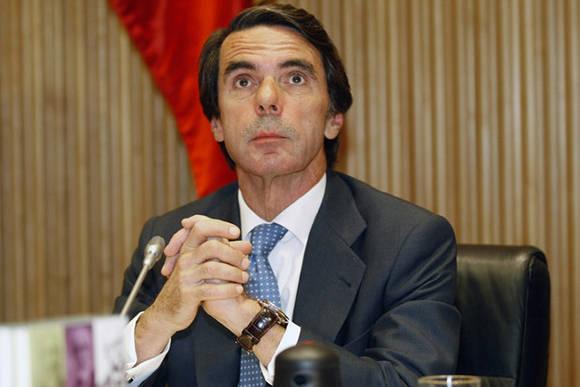 Jose Maria Aznar. Foto: Juan Manuel Prats/ El Periódico.