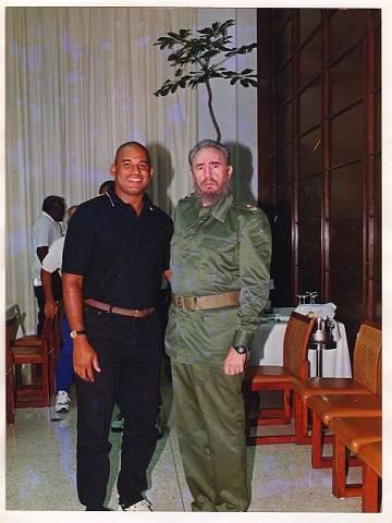 Kindelán tuvo la oportunidad de compartir con el Comandante en Jefe en varias ocasiones. Foto: Sierra Maestra.