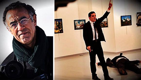 """""""Yo estaba asustado y confundido, pero encontré una cobertura parcial detrás de una pared e hice mi trabajo: tomar fotografías"""", narró el periodista de AP Burhan Ozbilici."""