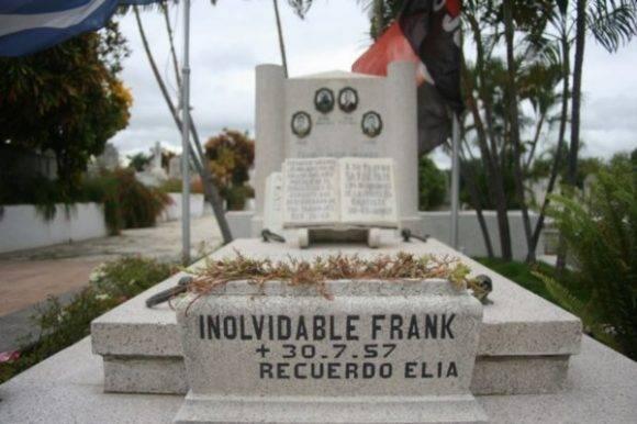 Restos de Frank País. Foto: Archivo