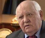 Gorbachov en una entrevista con la BBC.