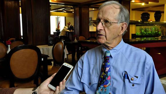 Graeme Kelleher. Foto: Roberto Garaicoa Martínez/ Cubadebate.