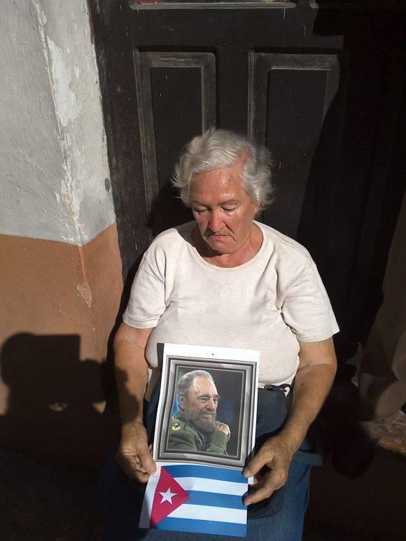 Hasta siempre Comandante dice Matanzas, imágenes Adrialis Rosario Zapata