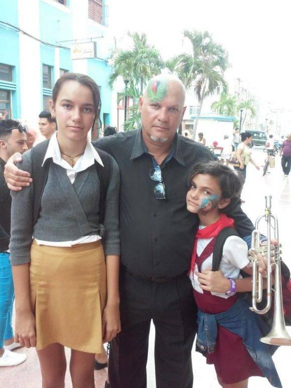Homenaje de la Perla del Sur al Invicto Comandante en Jefe, fotos Fredy Martín