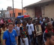 La ciudad se despidió en horas de la mañana de Adolfo Horta Martínez. Foto: Otilio Rivero Delgado y Cortesía de Oreidis Pimentel Pérez