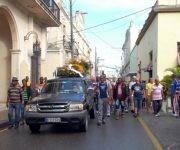La ciudad se despidió en horas de la mañana de Adolfo Horta Martínez. Fotos: Otilio Rivero Delgado y Cortesía de Oreidis Pimentel Pérez