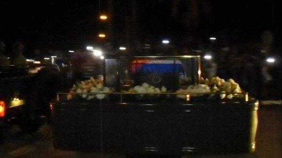 Lourdes Chacón: Crónica e imágenes de la Caravana, Cienfuegos