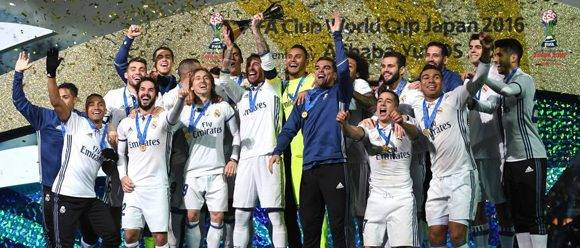 El Real Madrid ganó el Mundial de clubes, al vencer en tiempo extra 4 goles por 2 al Kashima japonés. Foto: AS.com