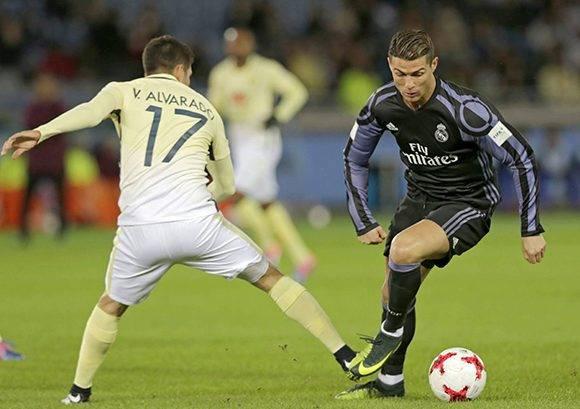 Cristiano se estrenó como goleador del Real Madrid en el Mundial de Clubes, ha marcado en todos los torneos que ha jugado. Foto: Kimimasa Mayama/ EFE.