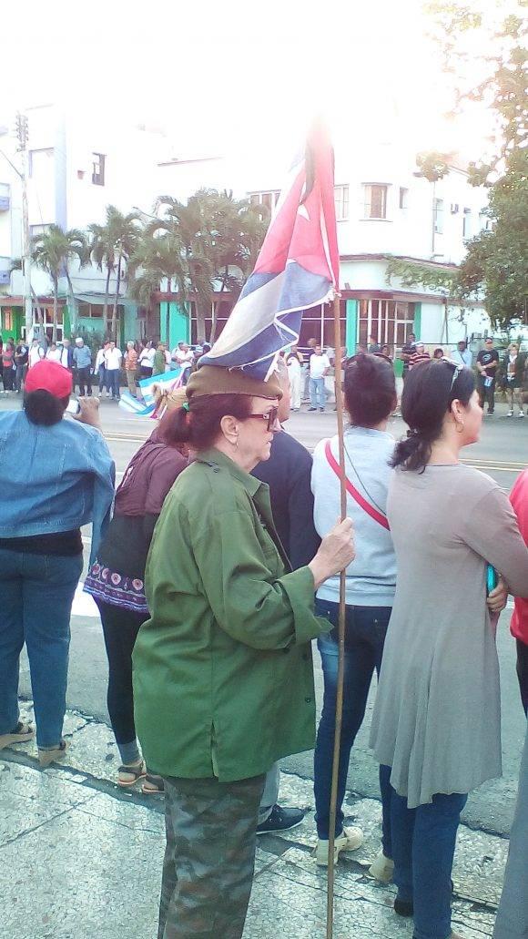 Natacha Santiago, miliciana desde 1961
