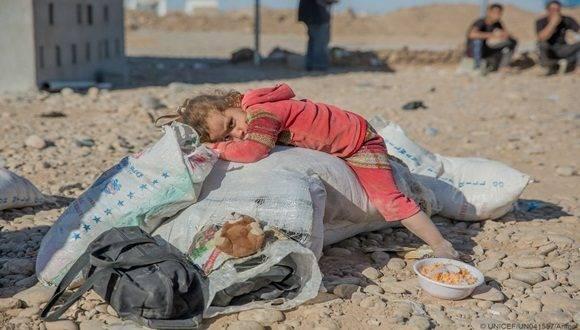 Un número significativo de niños corren el riesgo de morir de hambre solo en la región de África meridional, debido a la hambruna que afecta ese territorio.