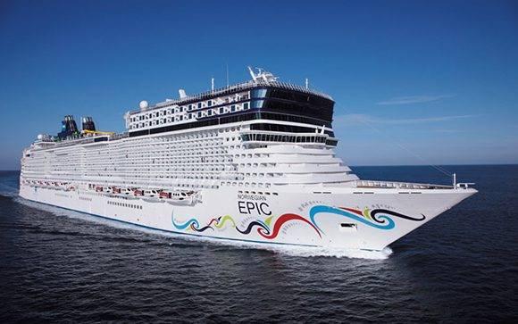 Crucero de Norwegian. Foto: Norwegian.