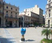 La obra de Cristina Pineda en la Plaza Vieja, de La Habana.